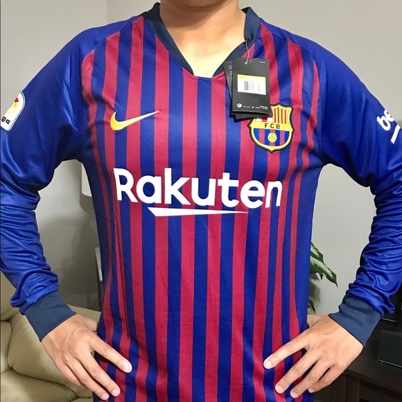 hot sale online 65c6d 83e69 Barcelona Messi Home Soccer Jersey NWT
